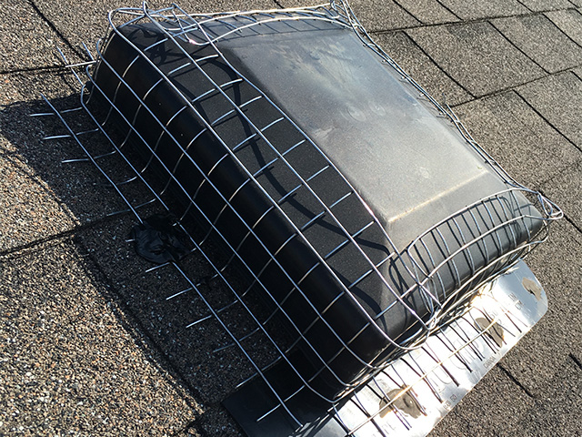 Roof Vent After